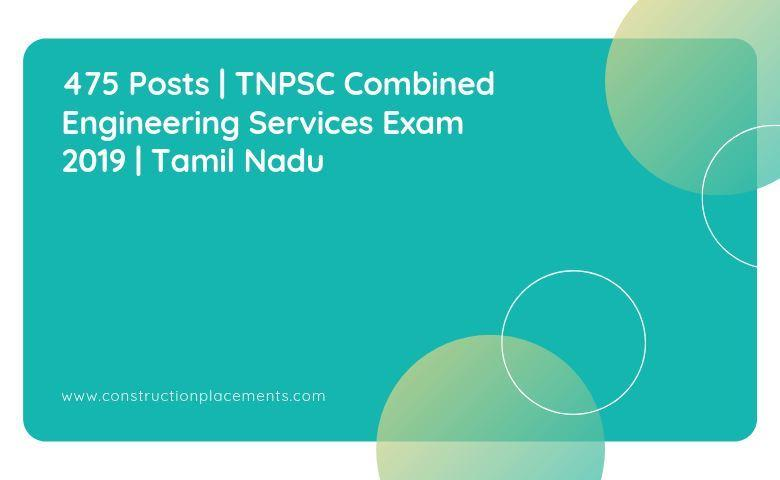 Combined Engineering Services Examination_2019