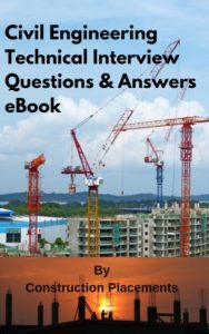 Civil engineering interview questions book