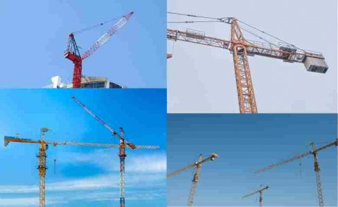 Construction Machinery Equipment-Cranes in construction