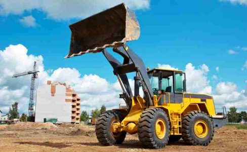 Construction Machinery Equipment-Wheeled Loading Shovel