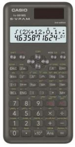 Casio FX-991MS 2nd Gen Non-Programmable Scientific Calculator, 401 Functions and 2-line Display
