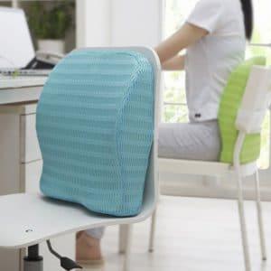 backset cushion for long seating hours.