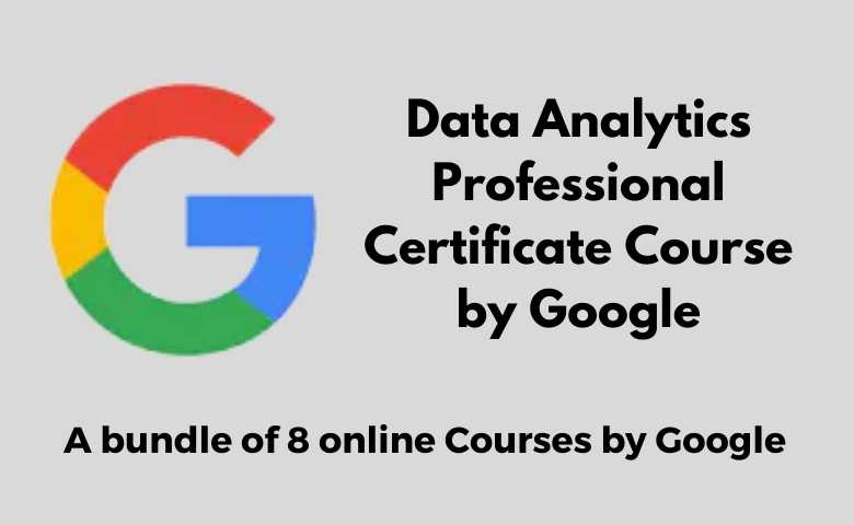 Data Analytics courses by google
